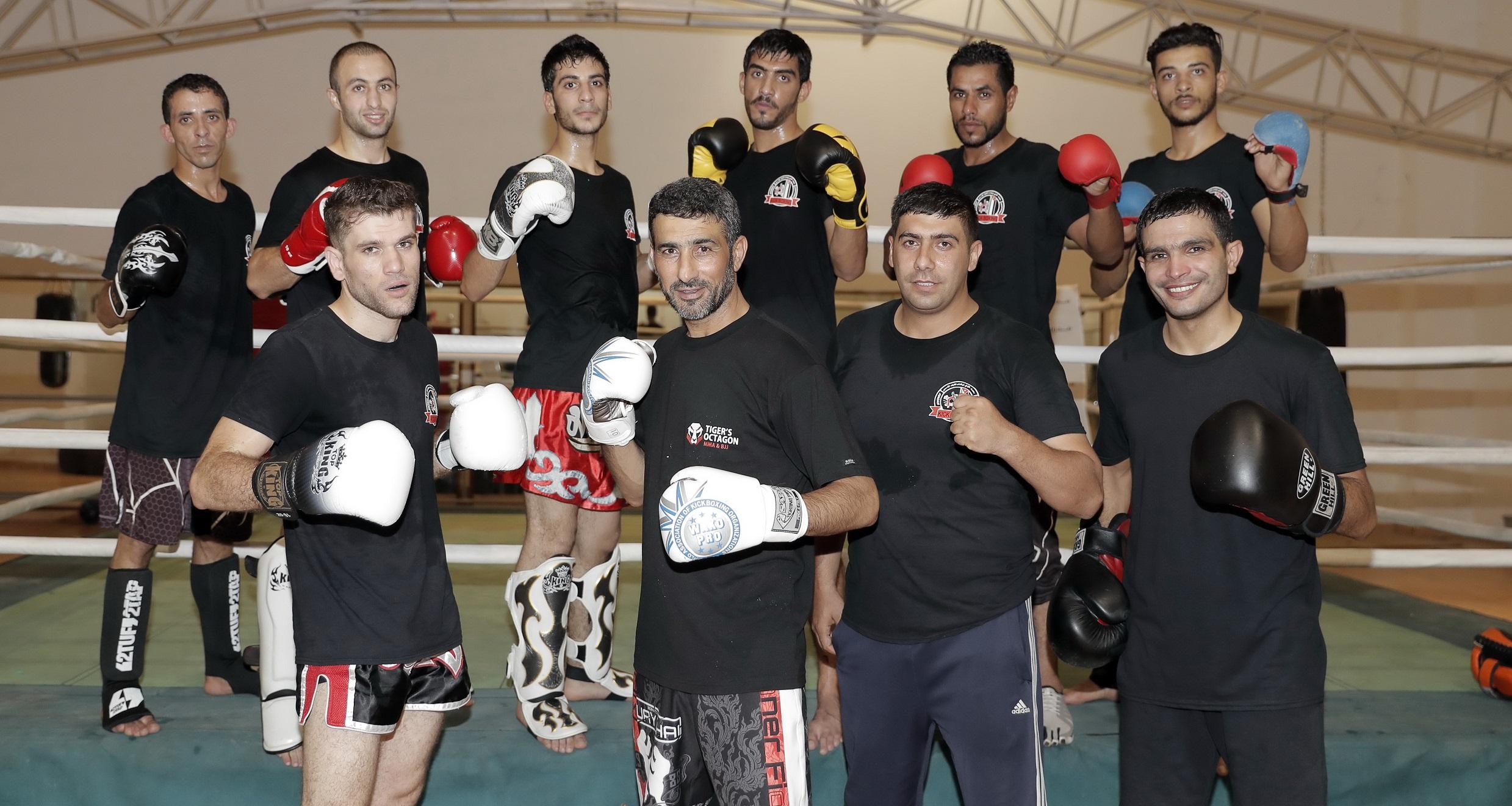 KICKBOXERS AIM FOR ASIAN INDOOR GAMES MEDALS - Jordan Olympic Committee